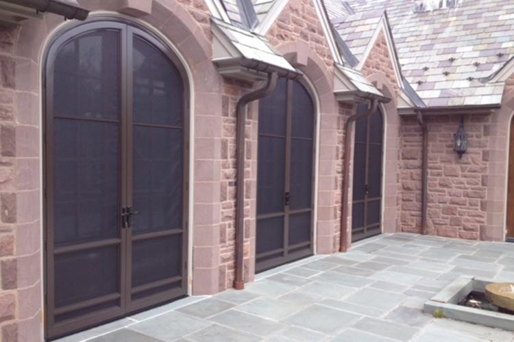 Beau Good Looks, Good Practical Sense With Arch Angle Custom Storm Doors.
