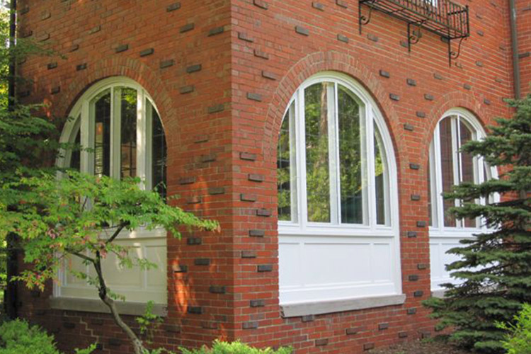 Round Arch Top Windows - Arch Angle Custom Arched Top Storm Windows & Storm Doors