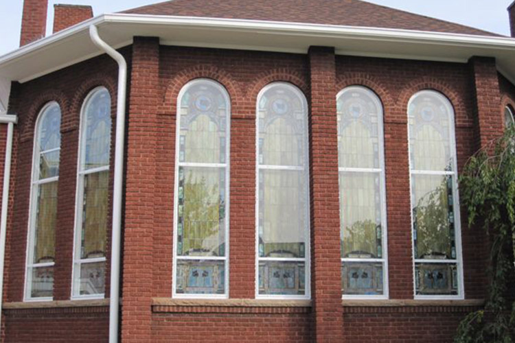 Arch Top Storm Windows - Arch Angle Custom Arched Top Storm Windows & Storm Doors