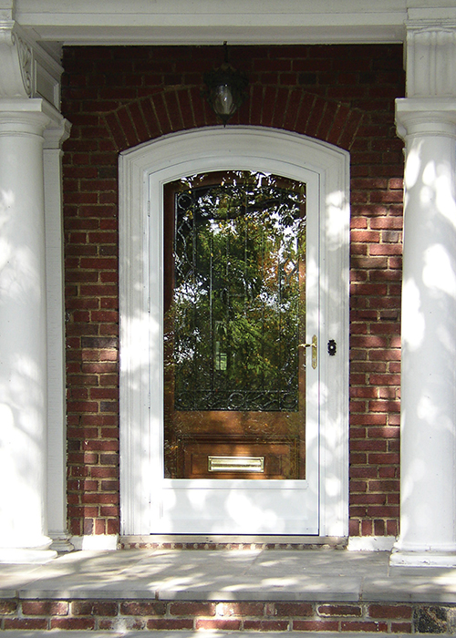 Residential Door - Arch Angle Custom Arched Top Storm Windows & Storm Doors