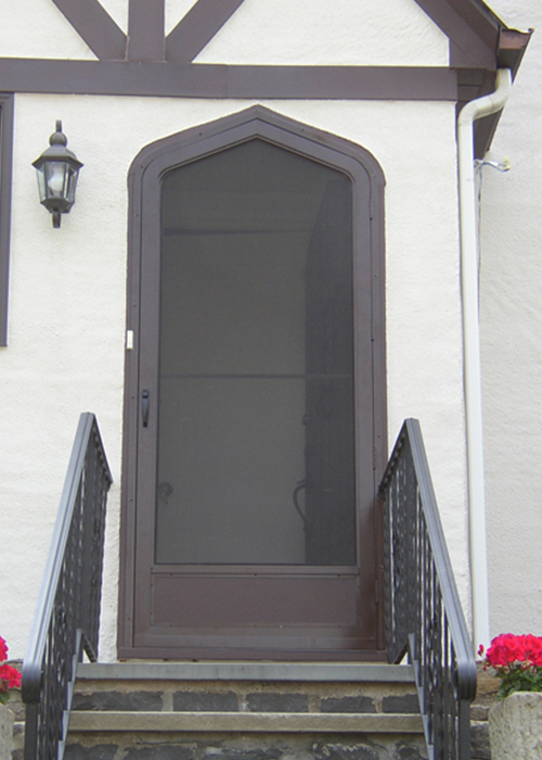 Door Options - Arch Angle Custom Arched Top Storm Windows & Storm Doors