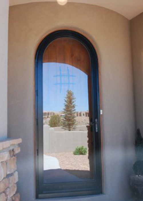 Door Arch C404rt Round Top Glass Panel Craftsman Door