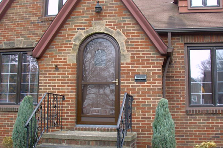 Round Top Door - Arch Angle Custom Arched Top Storm Windows & Storm Doors
