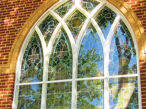 Church Windows - Arch Angle Custom Arched Top Storm Windows & Storm Doors
