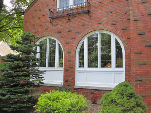 Residential - Arch Angle Custom Arched Top Storm Windows & Storm Doors